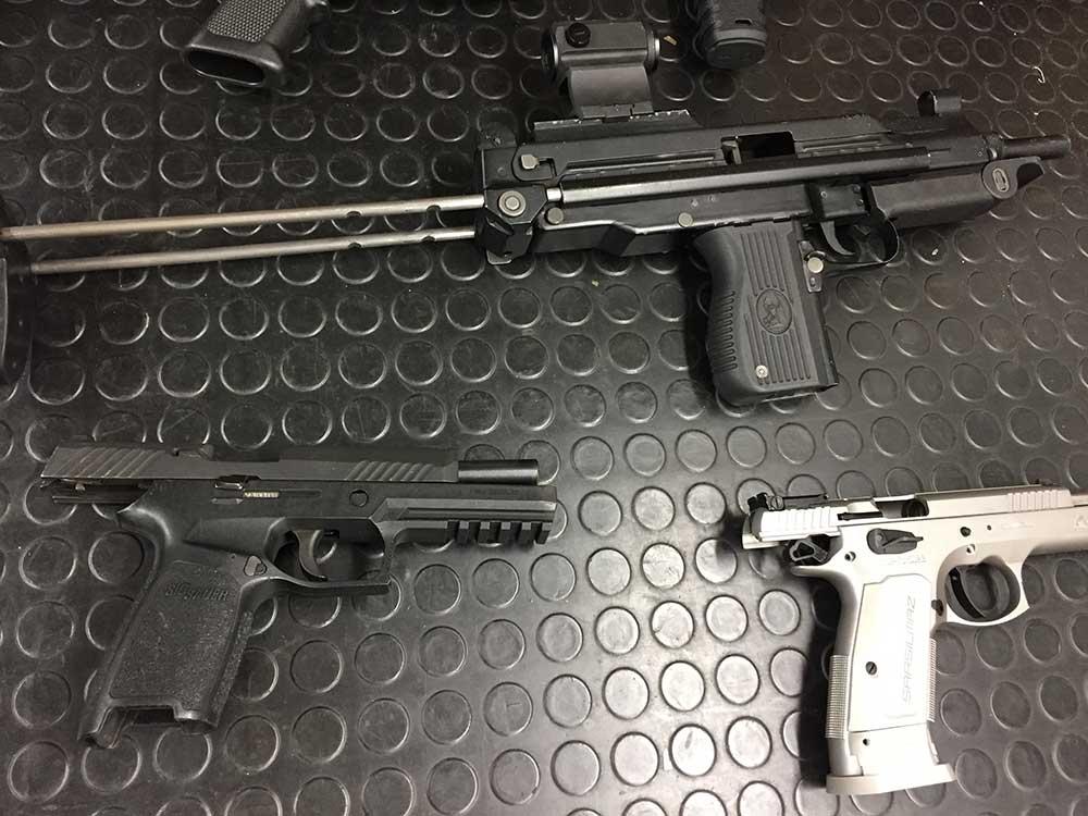 Gun Range Bag Equipment