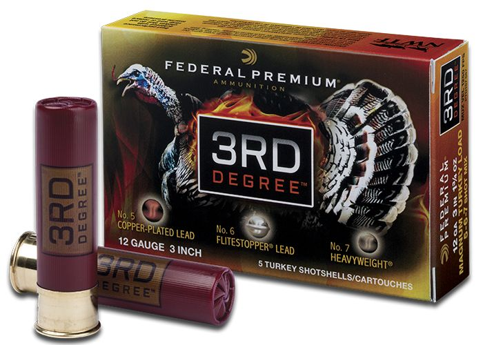 Federal Premium 3rd Degree Turkey Load 5-6-7 Mixed Shot