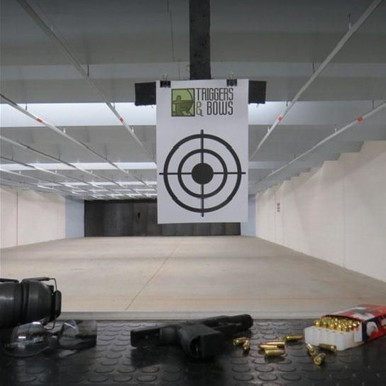 Triggers and Bows Gun Range